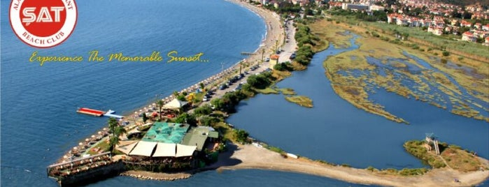 Şat Beach Club is one of Fethiye.
