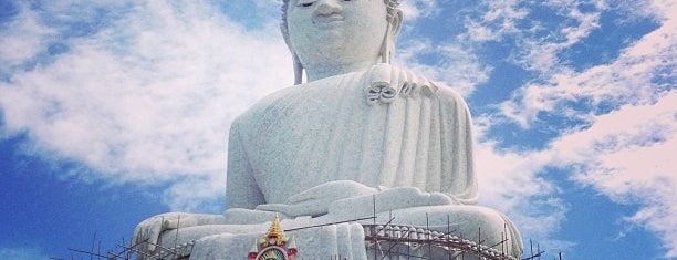 The Big Buddha is one of VACAY-PHUKET.