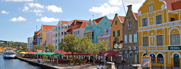 Willemstad is one of Dutch World Heritage sites.