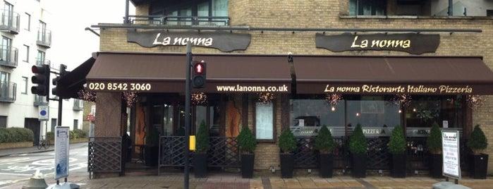 La Nonna is one of 🇮🇹Italian (2)🍕🍝.