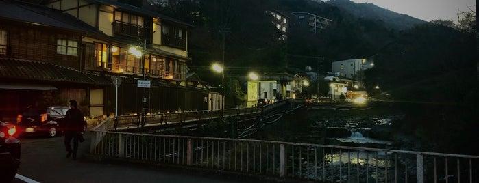 箱根湯本温泉 is one of 行きたい温泉.