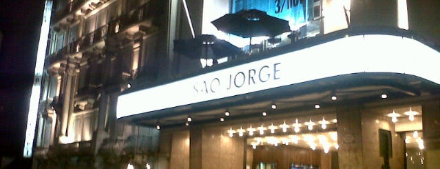 Cinema São Jorge is one of Locais Visitados.