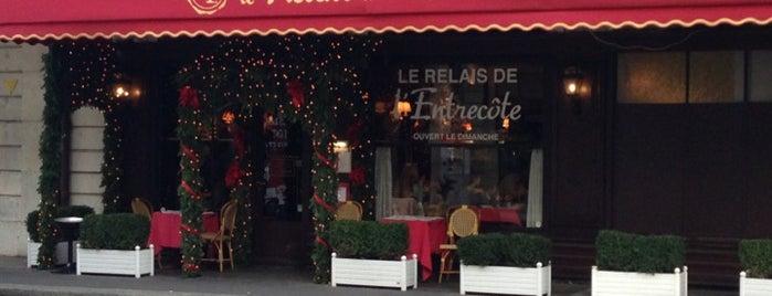 Le Relais de L'Entrecôte is one of Cenevre.