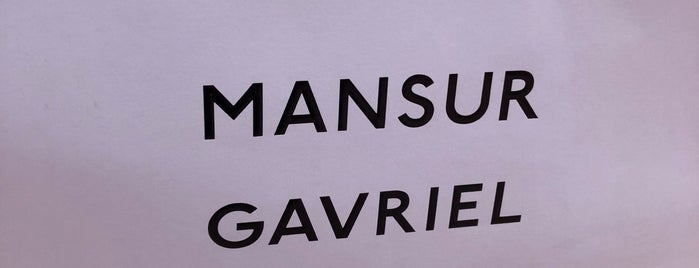 Mansur Gavriel's NYC Pop-Up Shop is one of NY.
