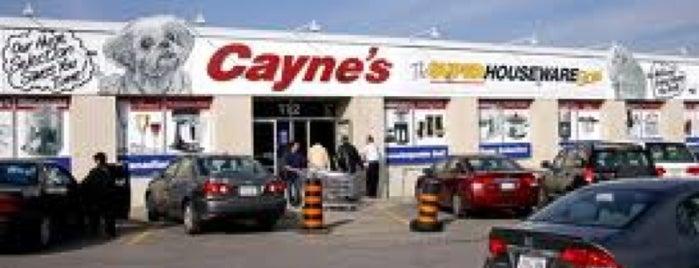 Cayne's Super Housewares is one of DJ'ın Beğendiği Mekanlar.