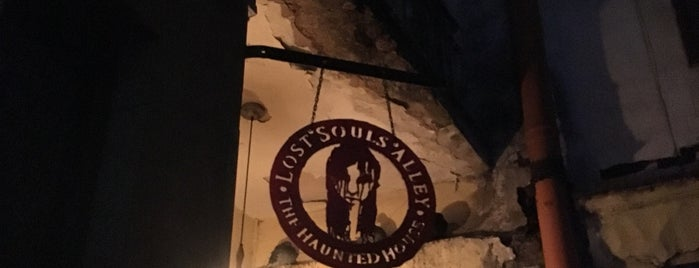 Lost Souls Alley is one of Krakow.