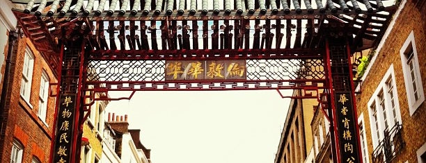 Chinatown is one of Pleasure Spots in the UK.