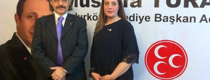 MHP Bakırköy Seçim Koordinasyon Merkezi is one of Locais curtidos por Spiker Sunucu.