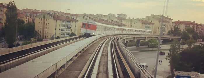 Batıkent Metro İstasyonu (M1 & M3) is one of my love Ankara.