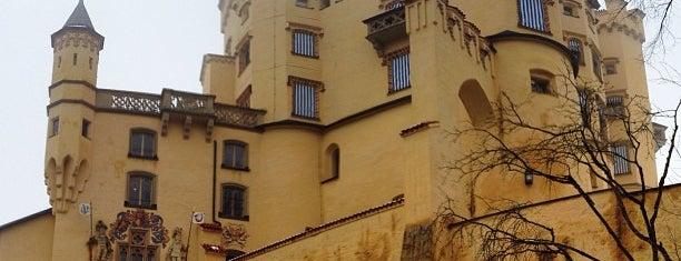 Schloss Hohenschwangau is one of 100 обекта - Германия.