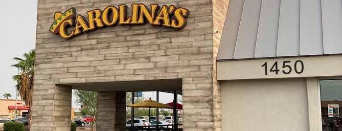 Carolina's Mexican Food is one of Phx Try.