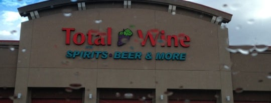 Total Wine & More is one of Tony's Liked Places.