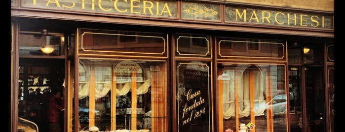 Pasticceria Marchesi is one of Milan.