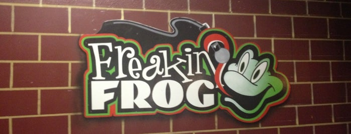 Freakin' Frog is one of Vegas Stuff.