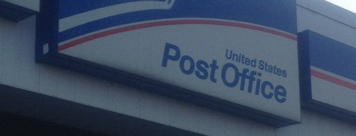 US Post Office is one of Locais curtidos por Rob.