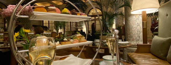 The Palm Court at The Plaza is one of USA NYC Must Do.