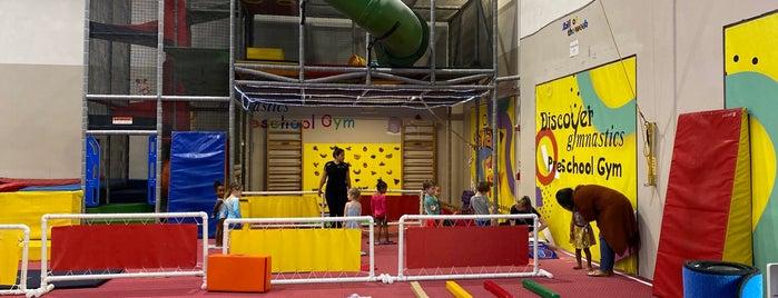 Discover Gymnastics is one of Orte, die Damien gefallen.
