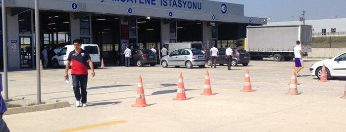 TÜVTÜRK Araç Muayene İstasyonu is one of สถานที่ที่ Hande ถูกใจ.