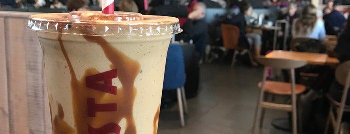 Costa Coffee is one of สถานที่ที่ Sergio M. 🇲🇽🇧🇷🇱🇷 ถูกใจ.