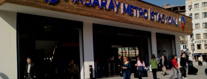 Aksaray Metro İstasyonu is one of Orte, die Gabriel gefallen.