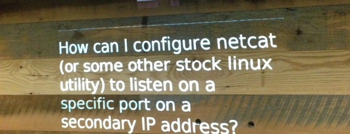 Stack Exchange is one of Silicon Alley, NYC.