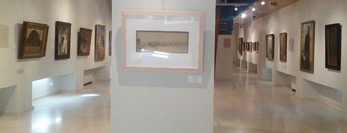 Athens Municipal Gallery is one of Theodosia : понравившиеся места.