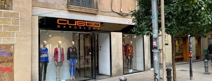 Custo is one of Shop Til You Drop.