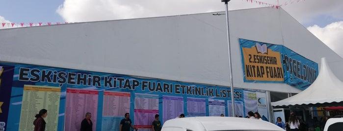 Eskişehir Kitap Fuarı is one of Esra : понравившиеся места.