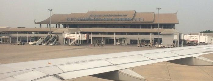 ワットタイ国際空港 (VTE) is one of Airports - worldwide.