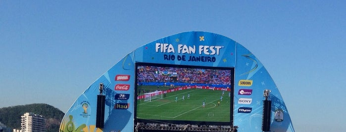 FIFA Fan Fest is one of Thailand.