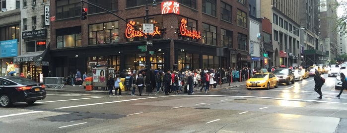 Chick-fil-A is one of NY.