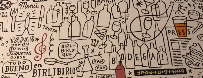 Birlibirloque Bar is one of Lugares favoritos de Alex.