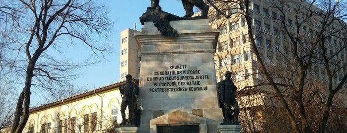 """Piața Leul is one of Tempat yang Disimpan Jassim """"Jesse""""."""
