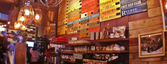 The Grey Dog - Nolita is one of NYC  cafe / coffee lovers (esp soy milk drinkers).