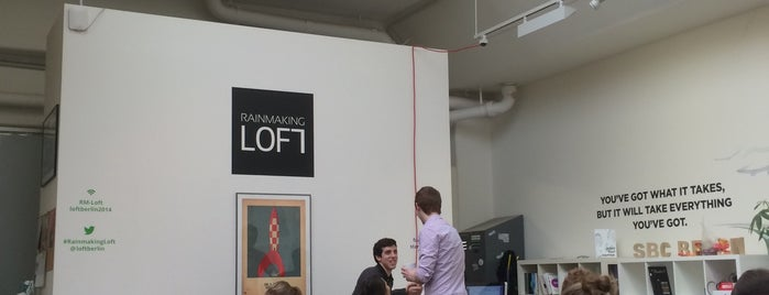 Rainmaking Loft Berlin is one of Coworking Germany.