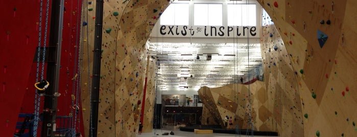 Brooklyn Boulders Somerville is one of Posti che sono piaciuti a Ingrid.