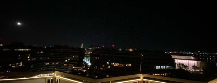 The Watergate Hotel is one of DC.