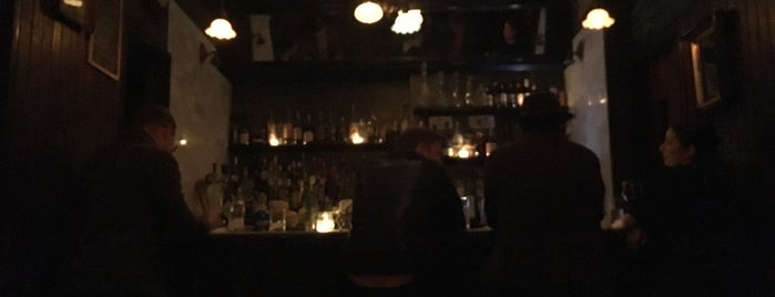 The Mayflower Social is one of The coziest bars in Brooklyn.