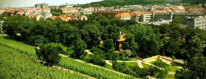 Havlíčkovy sady (Grébovka) is one of Prague.