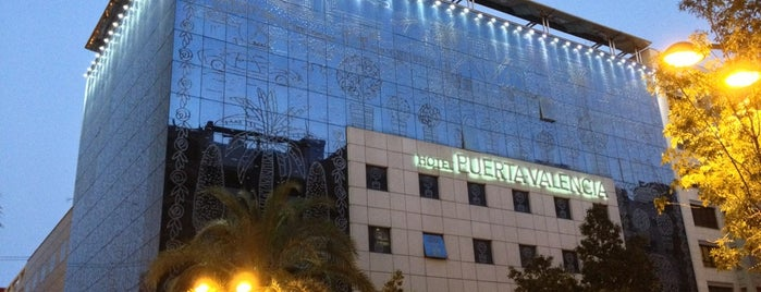 Hotel Puerta Valencia is one of Valencia.