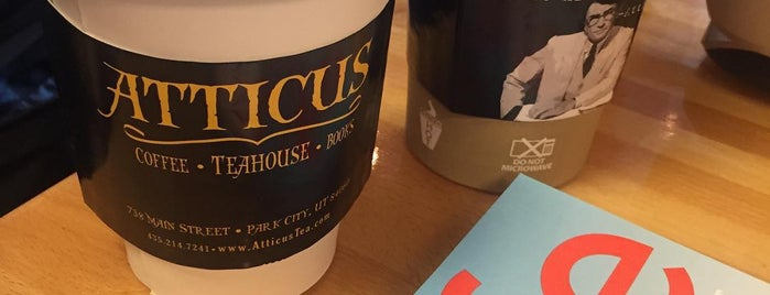 Atticus Coffee, Books and Teahouse is one of A Guide to Park City, UT.