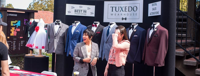 Tuxedo Wearhouse is one of Top picks for Clothing Stores.