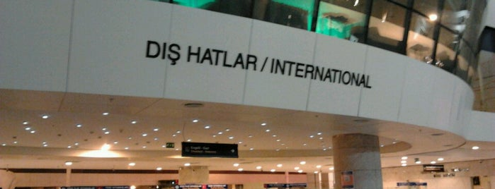Dış Hatlar Gidiş Terminali is one of Airports Worldwide.