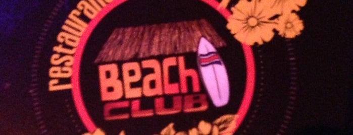 Beach Club is one of My places.