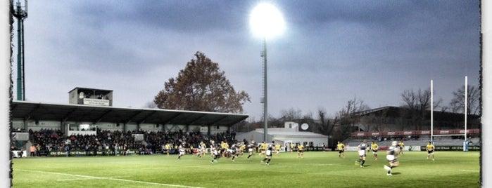 """Stadionul Național de Rugby """"Arcul de Triumf"""" is one of Ghid de București."""