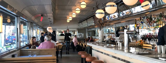 Empire Diner is one of Best 200 Spots to Eat in Manhattan.