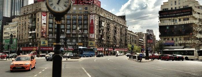 Piața Romană is one of Follow the Orient Express — Şark Ekspresi.
