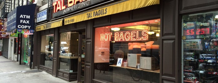 Tal Bagels is one of NYC.
