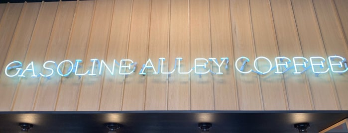 Gasoline Alley Coffee is one of New York's Best Coffee Shops - Manhattan.