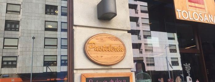 Pasteleria La Tolosana is one of สถานที่ที่ cuadrodemando ถูกใจ.